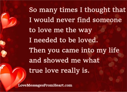 28 Touching Quotes To Make Someone Feel Special: Love Messages Sweet Love Messages Touching Love